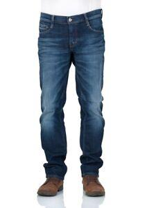 MUSTANG Jeans Homme Oregon Conique Foncé Rinser Usé Pantalon Bleu W29 - W38
