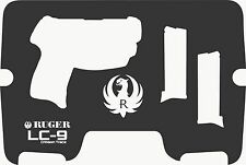 Custom Case for RUGER LCP 380 CrimsonTrace Pistol Laser Cut Inserts Perfect Fit!