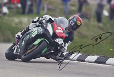 Gary Johnson Hand Signed 12x8 Photo Isle of Man TT 2.