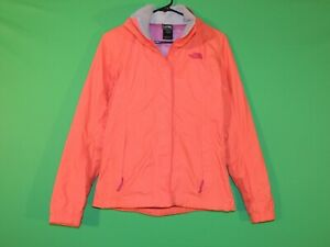 The North Face Womens Size XS Extra Small HyVent Full Zip Hooded Rain Jacket