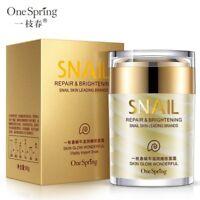 Natural Snail Cream Facial Moisturizer Face Cream Whitening Anti Wrinkle Lifting
