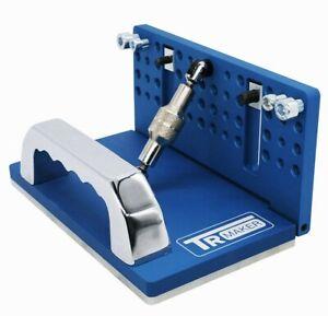 TR Maker Belt Grinder /Adjustable Knife Grinding Jig BLUE Color