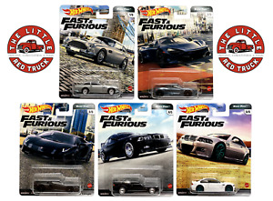 HOT WHEELS PREMIUM 2020 FAST & FURIOUS Mix K ~ EURO FAST ~ Set from the box