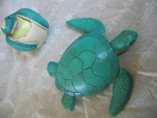 """American Girl 18"""" Doll SEA TURTLE + HATCHLING from BEACH ACCESSORIES LEA NEW"""