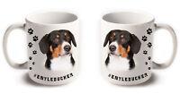 ENTLEBUCHER Mountain Dog Breeds Hashtag Mugs Animal Funny Pet Gift Coffee Tea