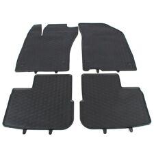 Gummimatten Auto-Fußmatten schwarz rutschfest wasserabweisend passend für Skoda