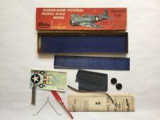 Sterling F6 Hellcat Vintage Rubber Powered Profile Free Flight Balsa Model Kit