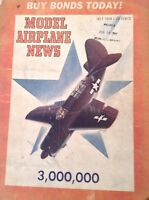 Model Airplane News Magazine Magnum Opus & Swami July 1944 082817nonrh