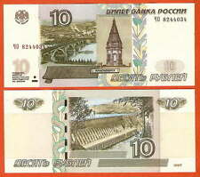 P268c   Russland / Russia  10 Rubel 1997/2004   UNC