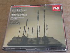 MAHLER symphonie no.6 BARBIROLLI 1994 DUTCH EMI CLASSICS 2-CD + BOOKLET