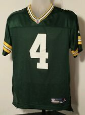 Green Bay Packers #4 Brett Favre Reebok NFL Jersey Size Youth/Boys XL (18-20)