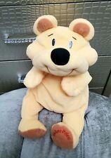 "Vintage 1993 Fisher Price Rumple Bear Honey Yellow Floppy Plush Black Nose 18"""