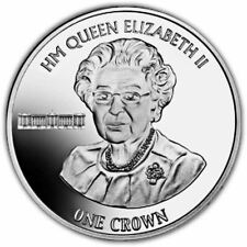 Ascension Islands 2016 90th Birthday Christmas Message Portrait Unc. CuNi Coin