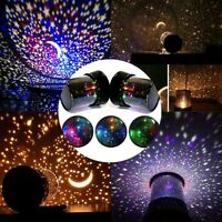 Amazing LED Starry Night Sky Projector Lamp Star Light Cosmos Master  Kids Gifts