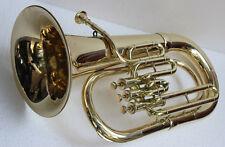 "Euphonium 100% Brass Bb FLAT 3V ""CHOPRA ""M/ PIECE & Bag Fast Shipping"