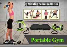 ABS Abdominal Exercise Gym Fitness Pull Rope AB Roller Waist Slimming Trainer