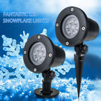 Led Light Snowflake Laser Projector Lamps For Home Indoor Christmas Decoration