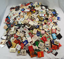 Matchbook Lot - OVER 1000 Assorted Restaurant Hotel Casino Clubs 1970s +