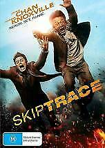 SKIPTRACE DVD - NEW & SEALED JACKIE CHAN, JOHNNY KNOXVILLE FREE POST