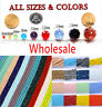Wholesale Crystal Glass Rondelle Faceted Loose Spacer Beads DIY 2-10mm Jewellery