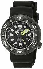 Citizen Men's Eco-Drive BN0175-19E Promaster Diver Black DLC 300m Watch