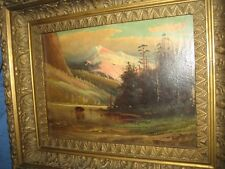 D A Fisher (1867-1940) Listed White Mountain Artist, Signed LL