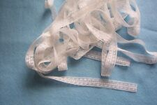 Vintage Cotton Valenciennes Insertion lace trim For Dolls Bears Crafts Sewing