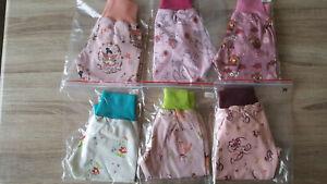 Jersey Hose Baby Pumphose Mitwachshose Schlupfhose Jerseyhose Gr. 74 Mädchen