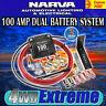 PROJECTA DBC100K 12V 100AMP ELECTRONIC DUAL BATTERY ISOLATOR SYSTEM KIT 12 VOLT