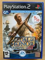 Medal of Honor: Rising Sun PS2 Sony PlayStation 2 Game WW2 World War II Pacific
