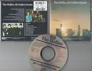 The Hollies  CD  20 GOLDEN GREATS