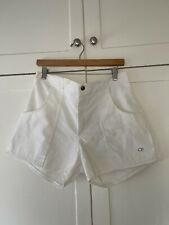 Vintage 80s OP Ocean Pacific Corduroy White SKATE Surf Beach Shorts 38