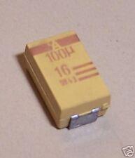 CAPACITOR TANTALUM  100UF 16V 10% SMD (SET OF 5)