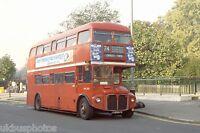 London Transport RML2557 Hyde Park Corner 1979 Bus Photo