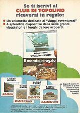 X1936 Il mondo in regalo con RAMEK Kraft - Pubblicità del 1976 - Vintage advert