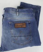 WRANGLER GREENSBORO Men's W36/L34 Stretchy Fade Effect Zip Fly  Jeans 24241-JS