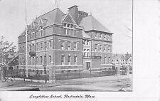 1907 Longfellow School, Roslindale, Massachusetts Postcard