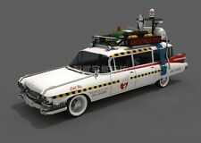 Ghostbusters Ecto-1A car paper Model Do It Yourself DIY