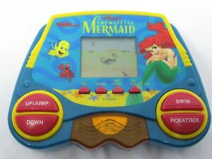 Disney's The Little Mermaid Tiger Electronic Handheld LCD Game 1998