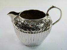 Sterling Silver - CREAM JUG - Birmingham 1887 - George Nathan & Ridley Hayes