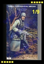 Resin Model Kit Warriors 1/9 (200mm) GERMAN  FALLSCHIRMJAGER ARDENNES fig -W9024