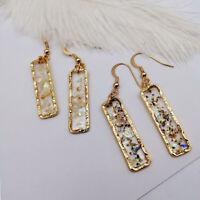 Dangle Pendant Geometric Ear Hoop Jewelry Fashion Accessories Drop Earrings