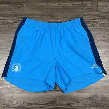 New Mens Adidas 2019 Boston Marathon Supernova Shorts Size XL DX8766 Rare