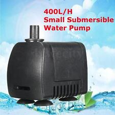 400L/H 7W 110V Submersible Aquarium Fish Tank Fountain Pond Small Water Pump