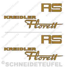 KREIDLER FLORETT RS AUFKLEBER SET NEU - 10006