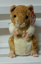 TY Beanie Baby - PELLET the Hamster - New w/ Tag protectors