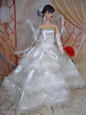 BARBIE DOLL ROBE DE MARIÉE WEDDING GOWN BRIDE # 05670