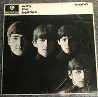 The Beatles With The Beatles Vinyl LP Album UK 2nd Press 1963 MONO PMC1206 VG/EX