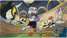 Video Game Cuphead Silk poster wallpaper 42 X 24 inches