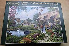 10854. Puzzle, A beautiful Sunday Stroll,  1000 Teile, Falcon